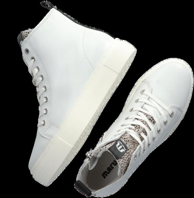 Witte MARUTI Hoge sneaker TERRY  - large