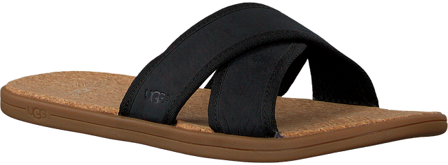 Zwarte UGG Slippers SEASIDE SLIDE  - large