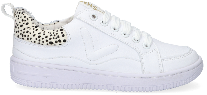 Witte SHOESME Lage sneakers MU21S018 - larger