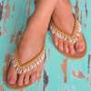 Beige HOT LAVA Sandalen BLUE LAGOON - small