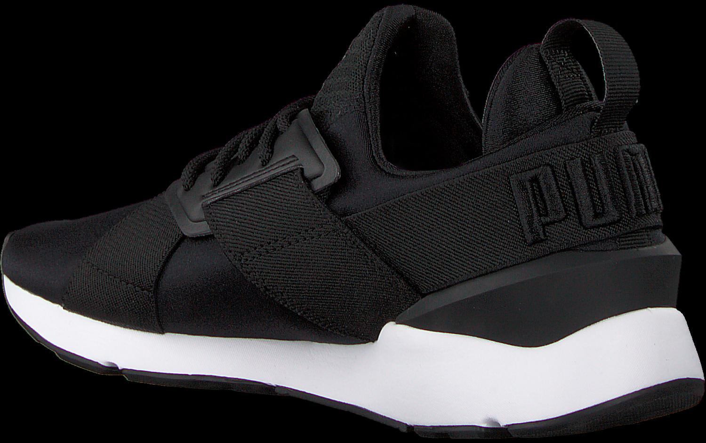 Zwarte PUMA Sneakers MUSE SATIN | Omoda
