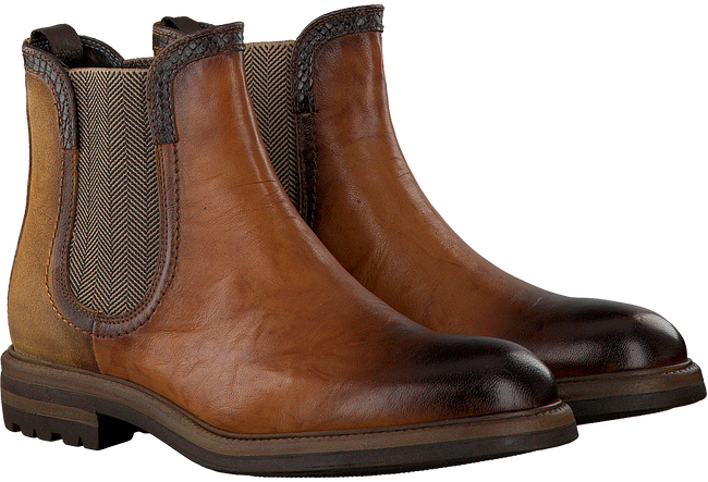 Cognac GIORGIO Chelsea boots HE59608  - large