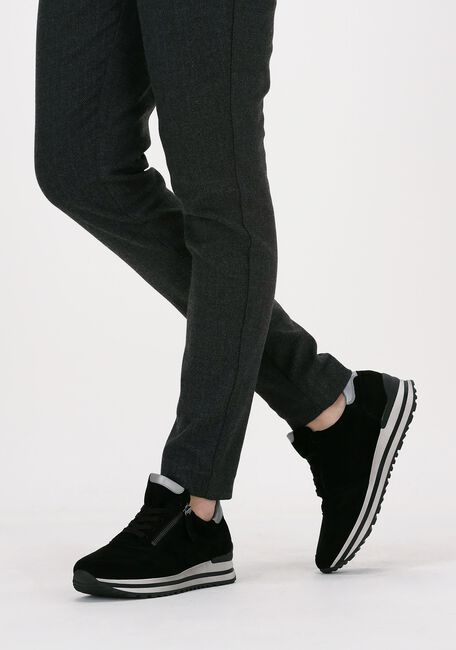 Zwarte GABOR Lage sneakers 528  - large