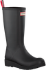 Zwarte HUNTER Regenlaarzen PLAY BOOT TALL - small