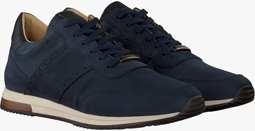 Blauwe MAZZELTOV Lage sneakers 20-9928  - larger