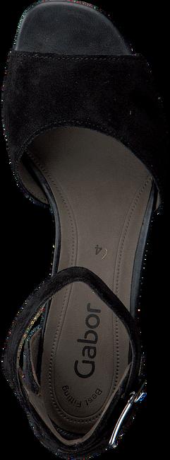 Zwarte GABOR Sandalen 723 - large