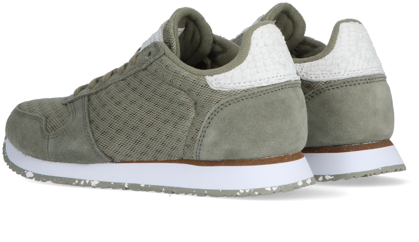 Groene WODEN Lage sneakers YDUN SUEDE MESH II  - larger