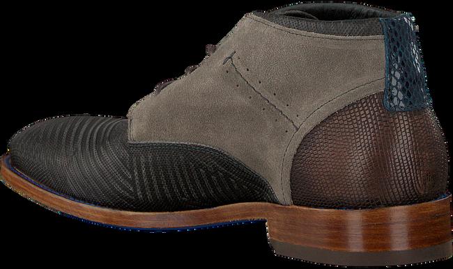 Grijze REHAB Nette schoenen SALVADOR ZIG ZAG - large