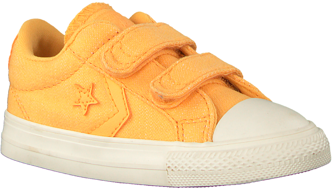 Gele CONVERSE Sneakers STAR PLAYER 2V OX KIDS  - large