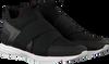 Zwarte HUGO Sneakers HYBRID RUNN KNTEL - small