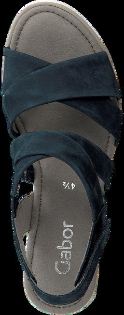 Blauwe GABOR Espadrilles 759.1 - large