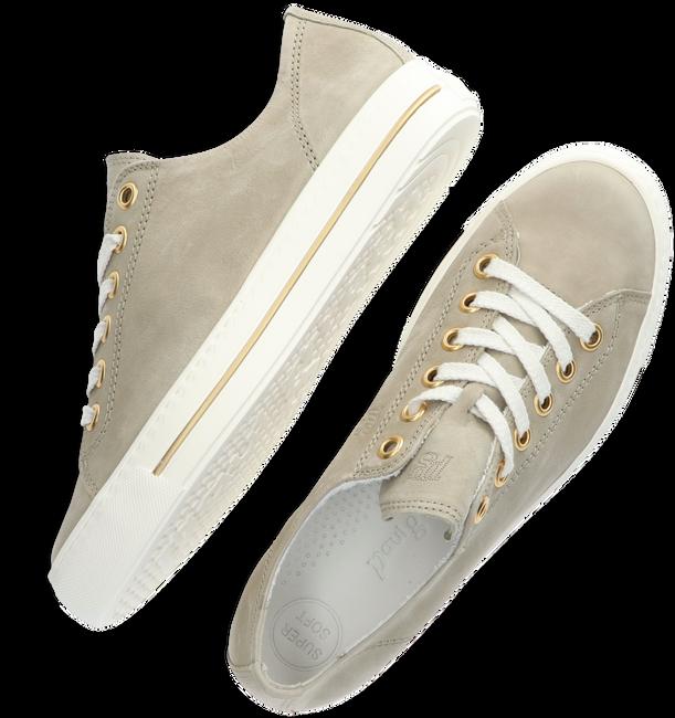 Grijze PAUL GREEN Lage sneakers 4704 - large