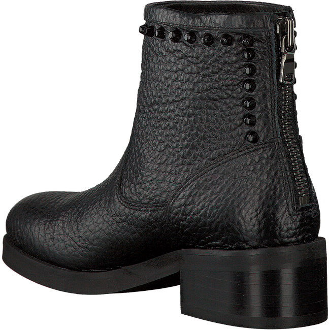 Zwarte NUBIKK Biker boots DALIDA BACK ZIP  - large