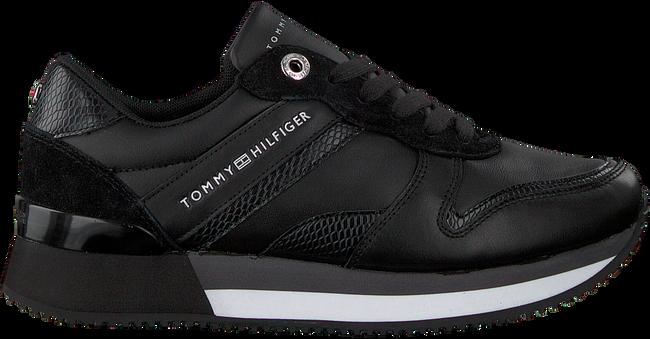Zwarte TOMMY HILFIGER Lage sneakers CORPORATE FEMININE CITY  - large