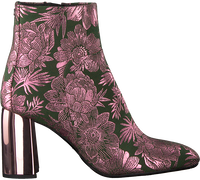 Groene FLORIS VAN BOMMEL Enkellaarsjes 85667  - medium