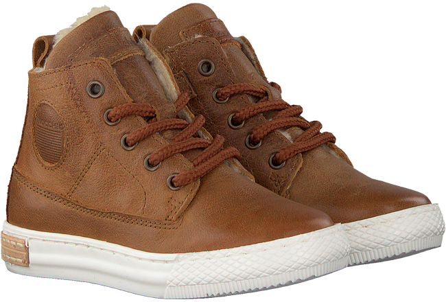 Bruine PINOCCHIO Hoge Sneakers P2851  - large