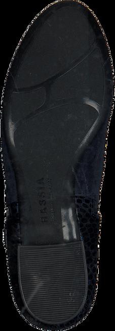 Blauwe HASSIA Enkellaarsjes 0985 - large