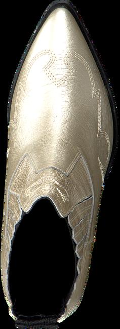 Gouden NUBIKK Enkellaarsjes ROMEE CURA  - large