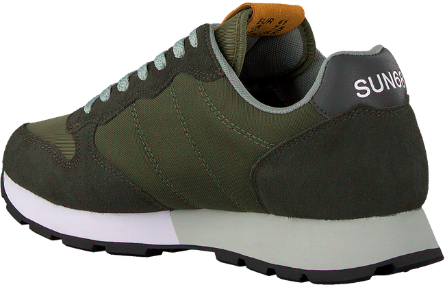 Groene SUN68 Lage sneakers JAKI SOLID PATCH  - large