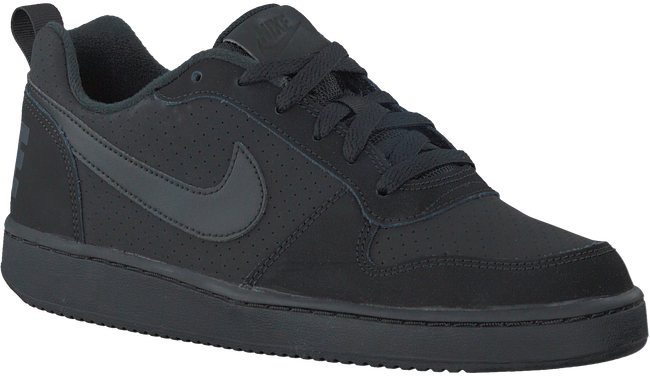 Zwarte NIKE Sneakers COURT BOROUGH LOW (GS) - large