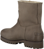 Taupe SHABBIES Enkelboots 181020073  - small
