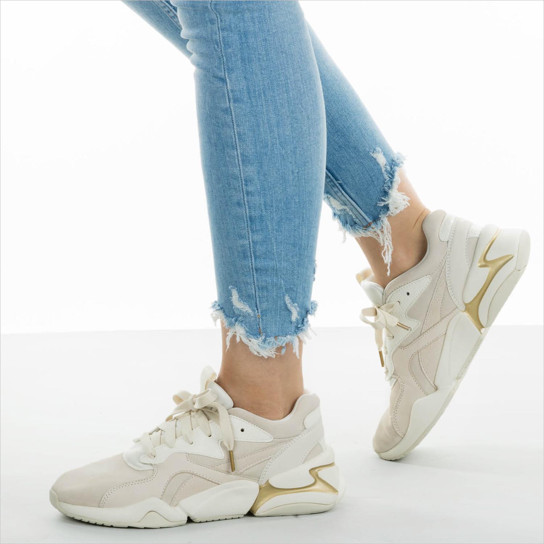 Beige PUMA Sneakers NOVA PASTEL GRUNGE | Omoda