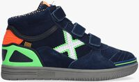Blauwe MUNICH Hoge sneaker G3 BOOT VELCRO  - medium