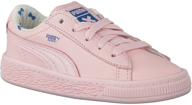 Roze PUMA Sneakers TINY COTTONS LEATHER  - large