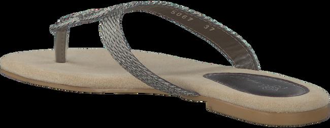 Zilveren MALUO Slippers 5067-BRO  - large