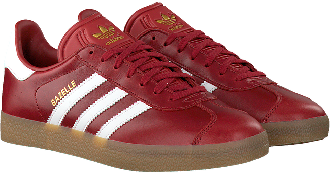 Rode ADIDAS Sneakers GAZELLE HEREN  - large