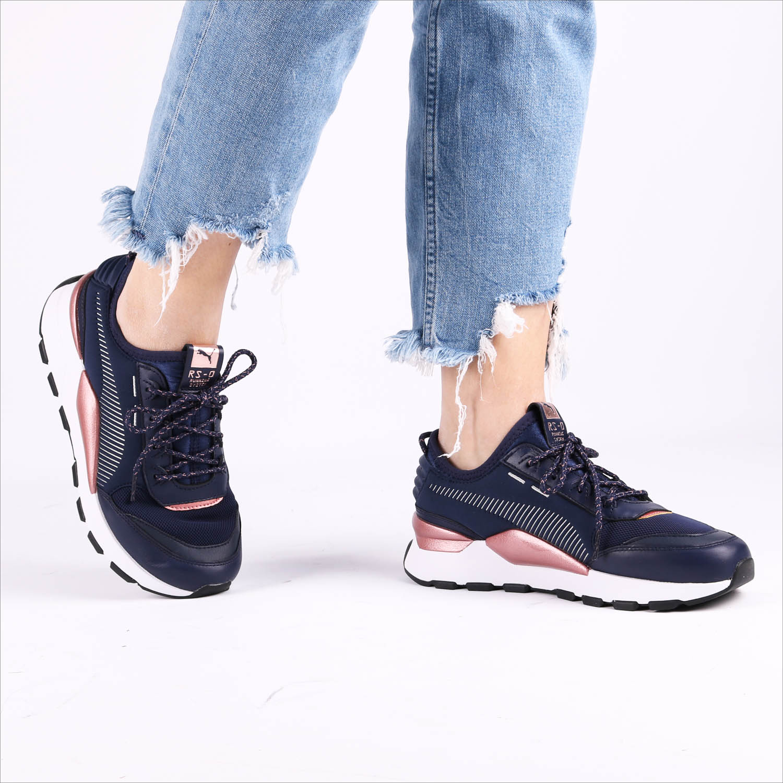 4c26871e89b Blauwe PUMA Sneakers RS-0 TROPHY - Omoda.nl