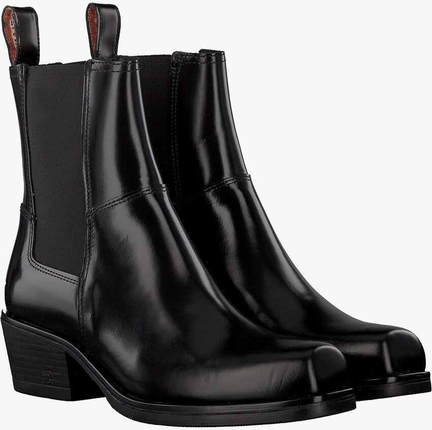 Zwarte SCOTCH & SODA Chelsea boots SHEILA  - larger