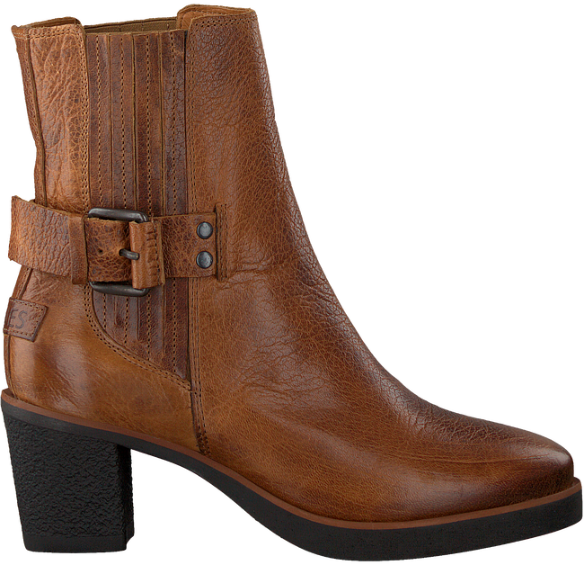 Cognac SHABBIES Enkellaarsjes 182020175  - large