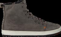 Grijze HUB Hoge sneaker BASE  - medium