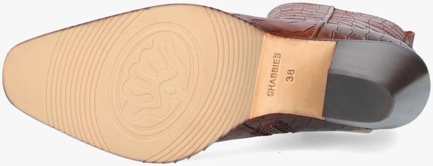 Cognac SHABBIES Enkellaarsjes 183020246  - larger