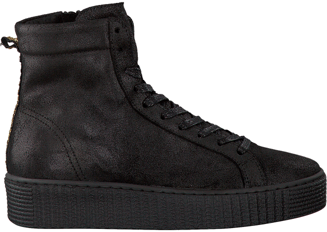 Zwarte STUDIO MAISON Sneakers CREEPER HIGH  - large