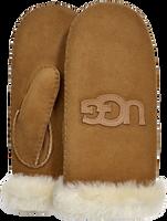 Camel UGG Handschoenen HERITAGE LOGO MITTEN - medium