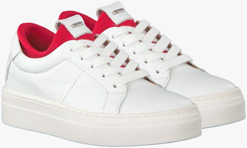 Witte SHABBIES Sneakers SHK0024  - larger