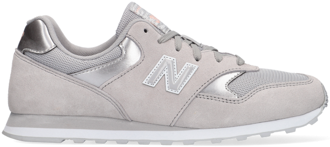 Grijze NEW BALANCE Lage sneakers WL393  - large