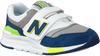 Witte NEW BALANCE Sneakers PZ997 M  - small