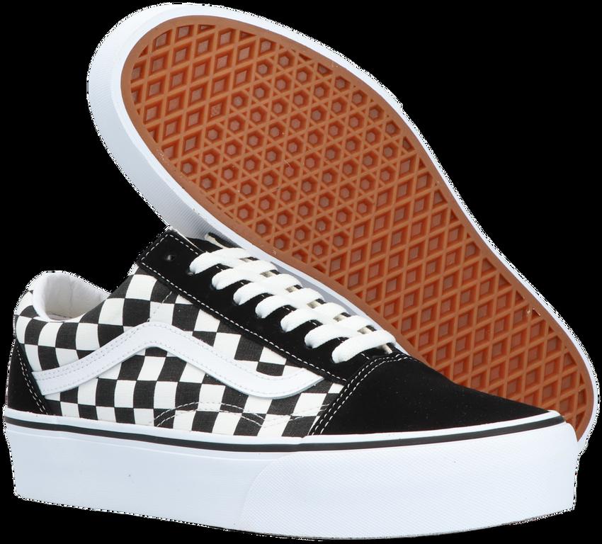 Zwarte VANS Sneakers OLD SKOOL PLATFORM  - larger