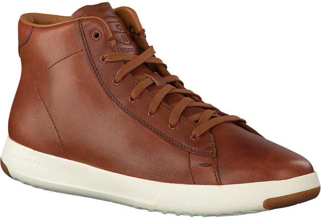 Cognac COLE HAAN Sneakers GRANDPRO HIGH TOP  - large
