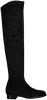 Zwarte RAPISARDI Overknee laarzen PAULINE 2376 L302  - small