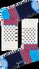 Witte HAPPY SOCKS Sokken STRIPES & DOT SOCK  - small