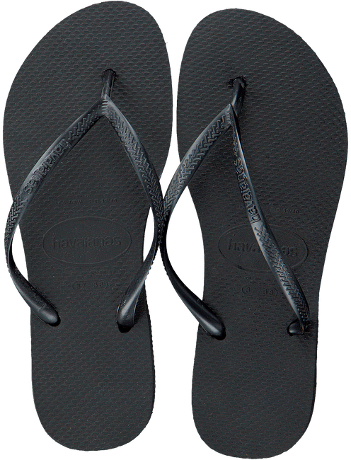 Zwarte HAVAIANAS Slippers SLIM WOMEN - large