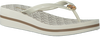 Witte MICHAEL KORS Slippers BEDFORD FLIP FLOP - small