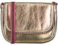 Gouden LE BIG Schoudertas TAZA BAG  - medium