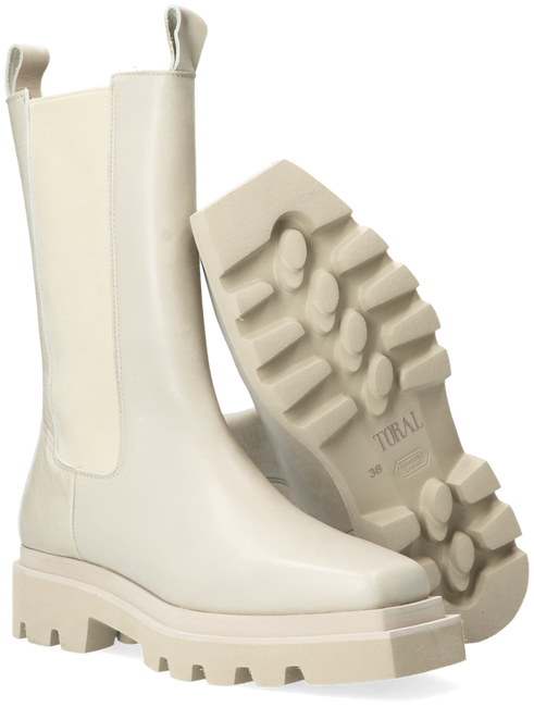 Witte TORAL Chelsea boots TL-12681 - large