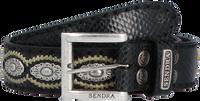 Zwarte SENDRA Riem 7606  - medium