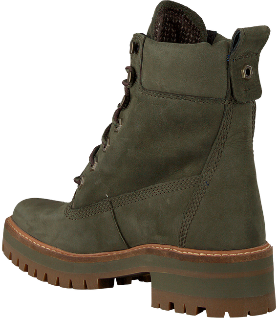 Groene TIMBERLAND Veterboots COURMAYEUR VALLEY YB - large